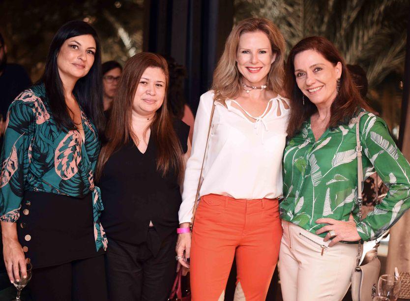 Nara Lauria, Drica Vicente, Cris Diniz e Beth Kalache