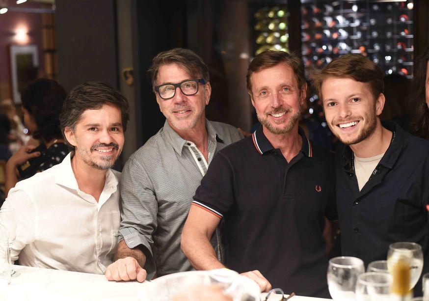 Ricardo Melo, Jairo de Sender, Nando Grabowsky e Victor Niskier