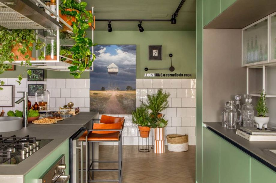 Cozinha Alecrim, por Bernardo Gaudie-Ley & Tânia Braida