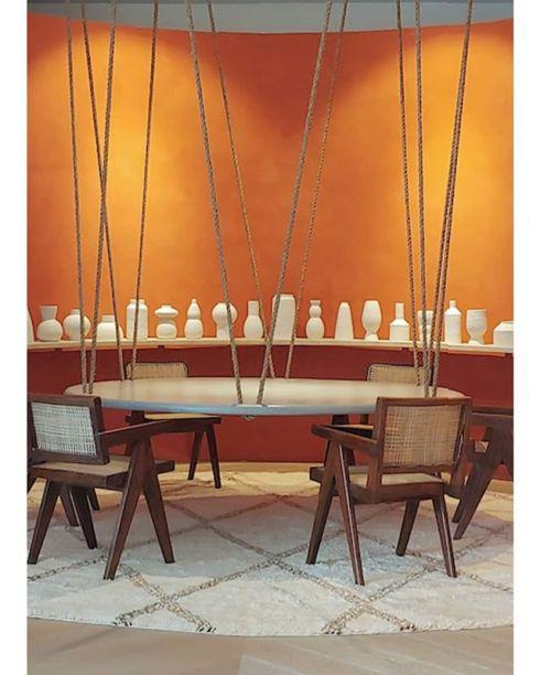 CASACOR Miami: mais um ângulo do Escritório do Arquiteto, uma homenagem a Le Corbusier pelo Studio californiano D'Apostrophe Design.