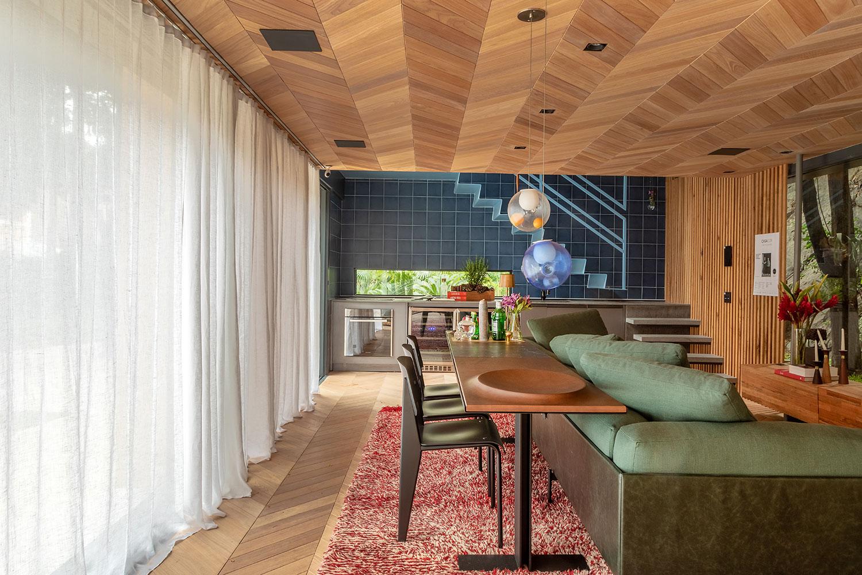 loft renault hugo schwartz alexandre gedeon sofá verde decoração tendência ambiente