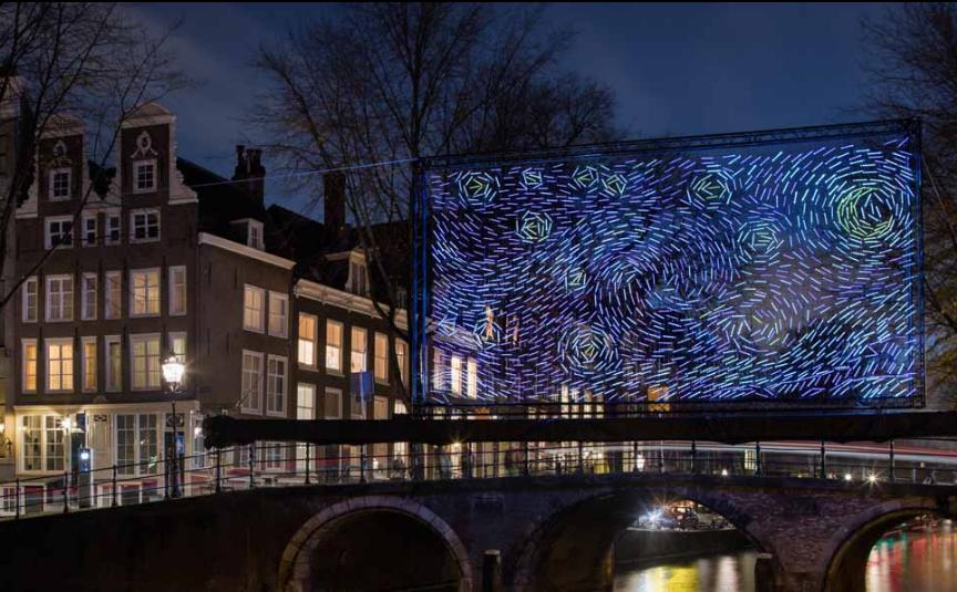 Starry Night (Noite Estrelada) - A arquiteta Ivana Jelic e o engenheiro Pavle Petrovic decidiram tentar recriar, artificialmente, o brilho do céu estrelado que inspirou Van Gogh a criar sua icônica pintura.