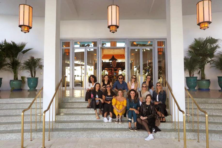 Grupo Uniflex no Hotel Faena