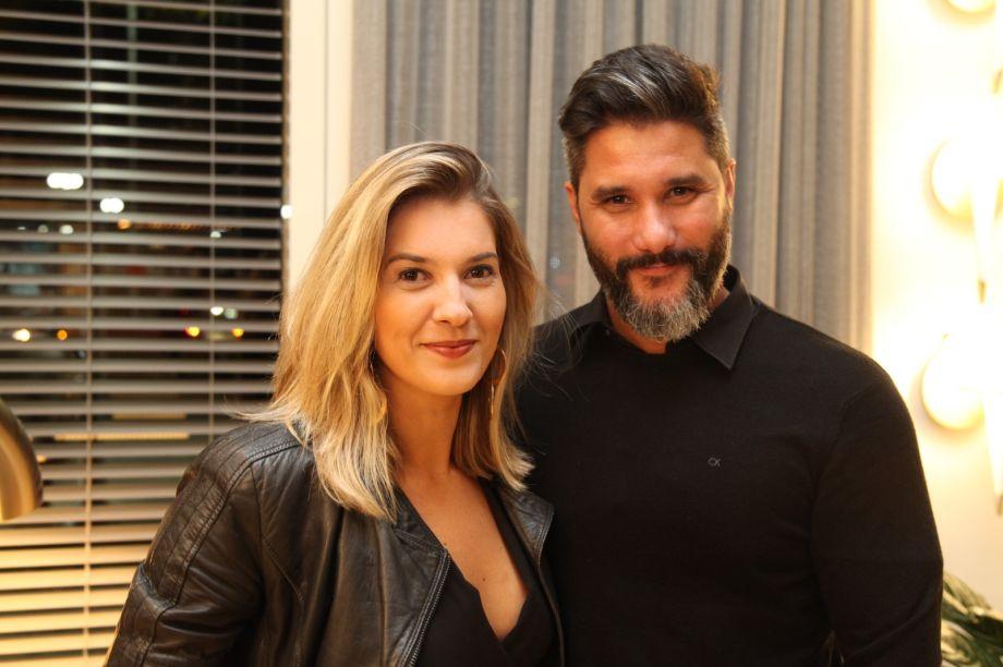 Carol Freitas e Fabio Bouillet