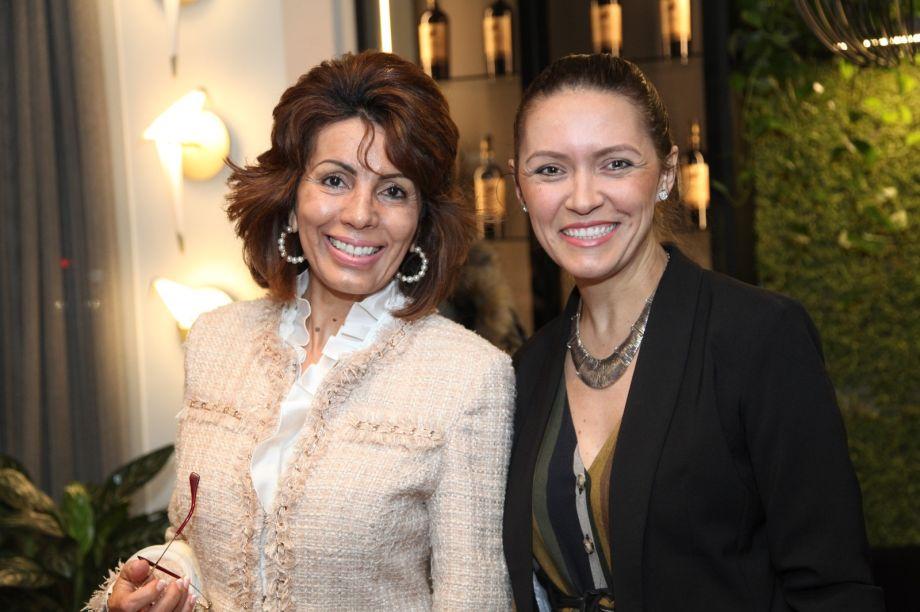 Sonia de Medeiros e Elenice Cardoso