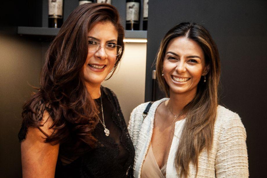 Tatiana Moreira e Lidia Maciel