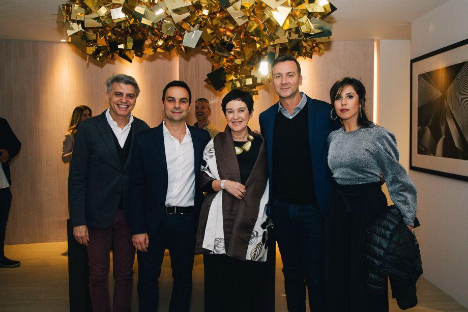 Alex Stevens, Lucio Grimaldi, Livia Pedreira, Massimo Ballucchi, Carolina Almeida Alzamora