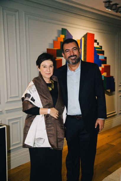 Livia Pedreira e Allan Malouf