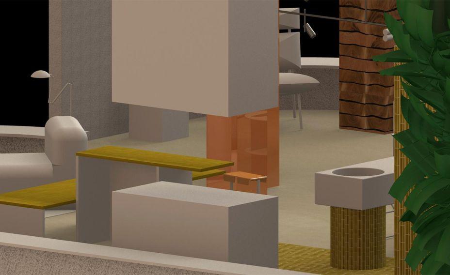 A dupla australiana Truly Truly irá apresentar sua visão de vida contemporânea. O espaço que os designers desenvolveram para a Das Haus não será usual, mas ainda convidativo, um equilíbrio entre a abstração e o conforto.