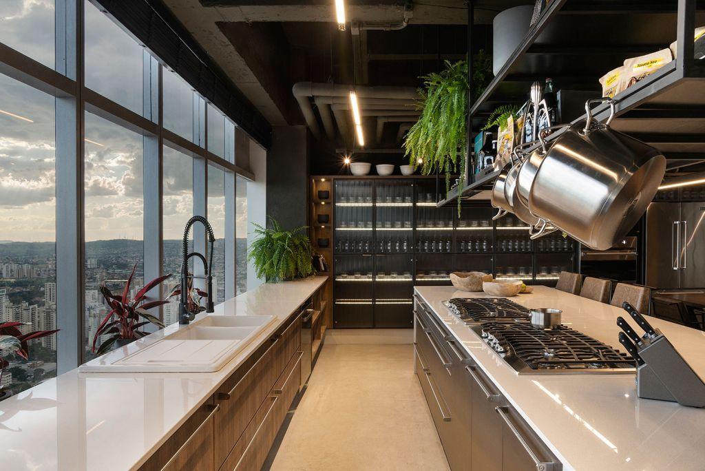 projetos de cozinha industrial CASACOR