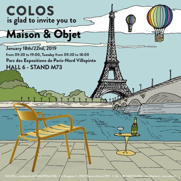 A Colos (Pavilhão 6, Stand M73) apresentará a nova cadeira Stecca Lounge, assinada pelo designer francês Alban Le Henry.