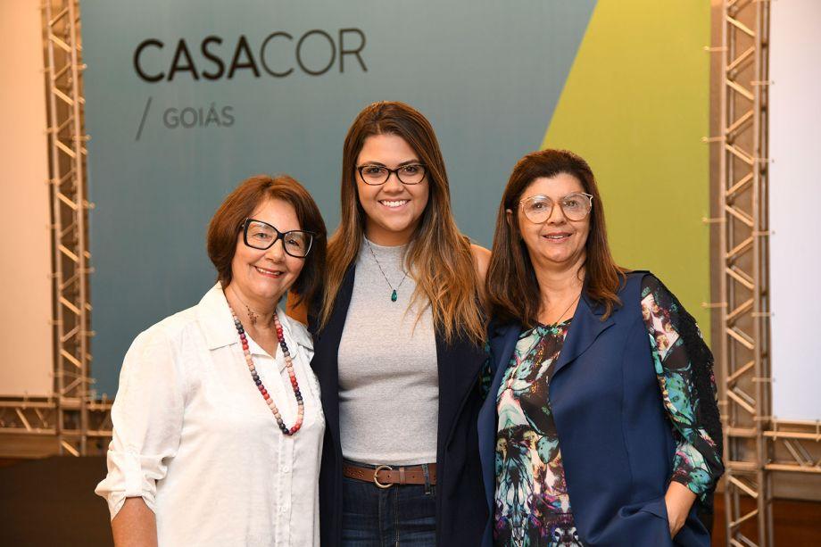 Fatima Mesquita, Aline Albieri e Marcia Albieri