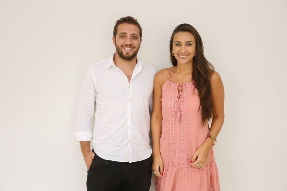 Gustavo Assis e Maria Alice Crippa