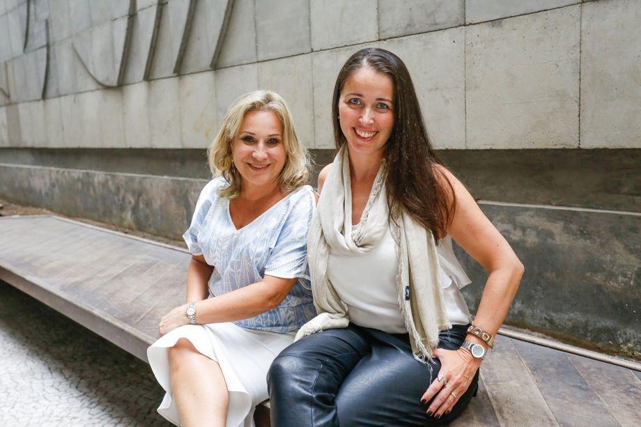 Jane Rocha e Suzane Simon