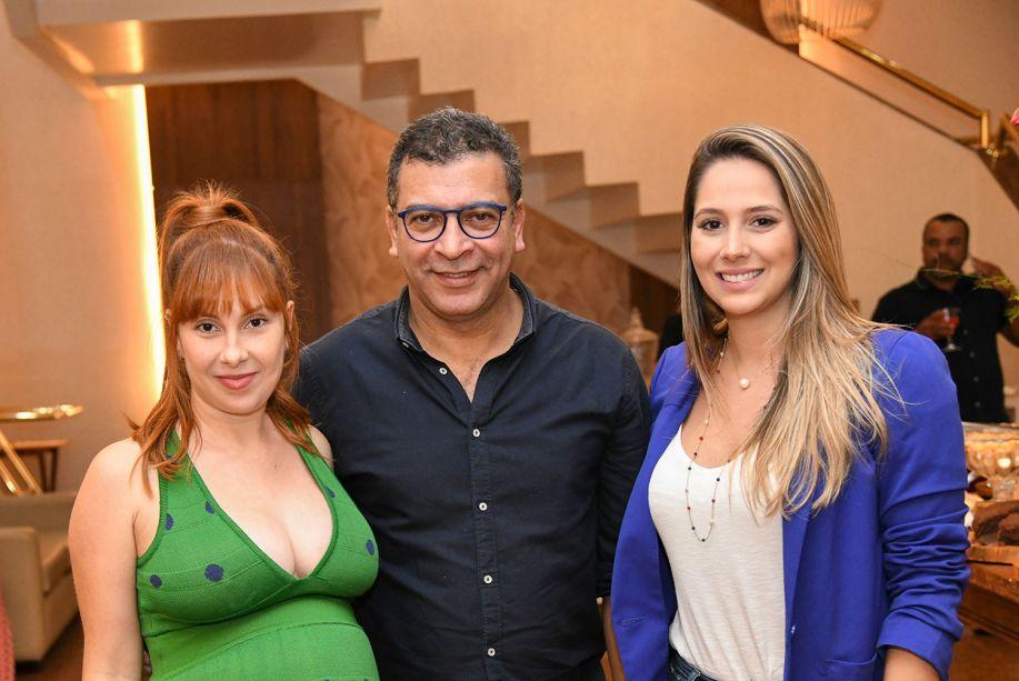 Luísa Azevedo, Pedro Ariel Santana e Roberta Carneiro