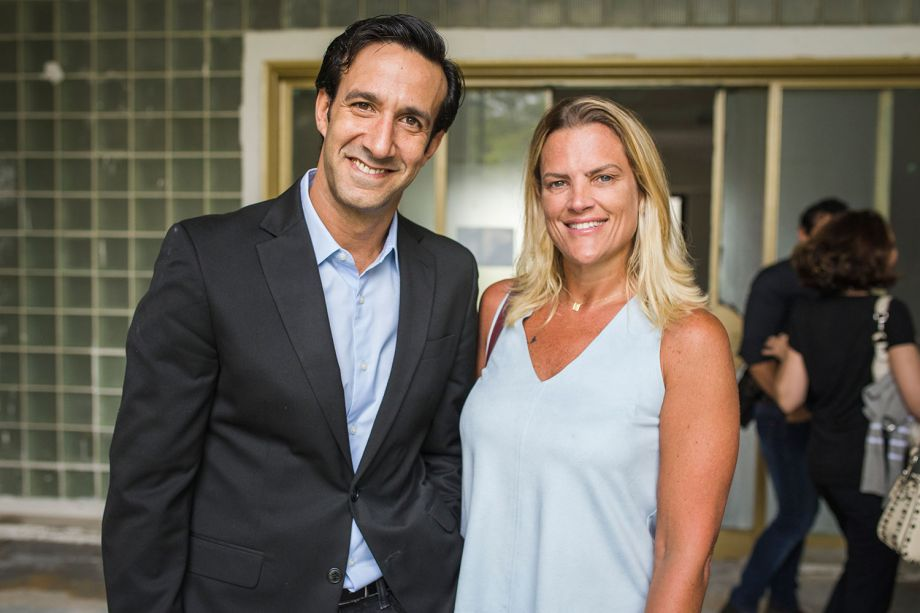 Benjamin Ramalho e Gabriela Janecek