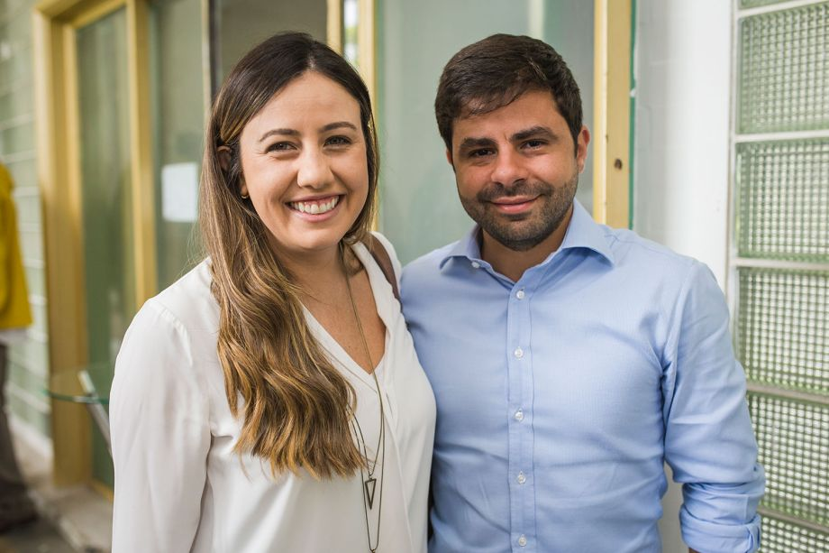Daniella Rodrigues e Fernando Gama