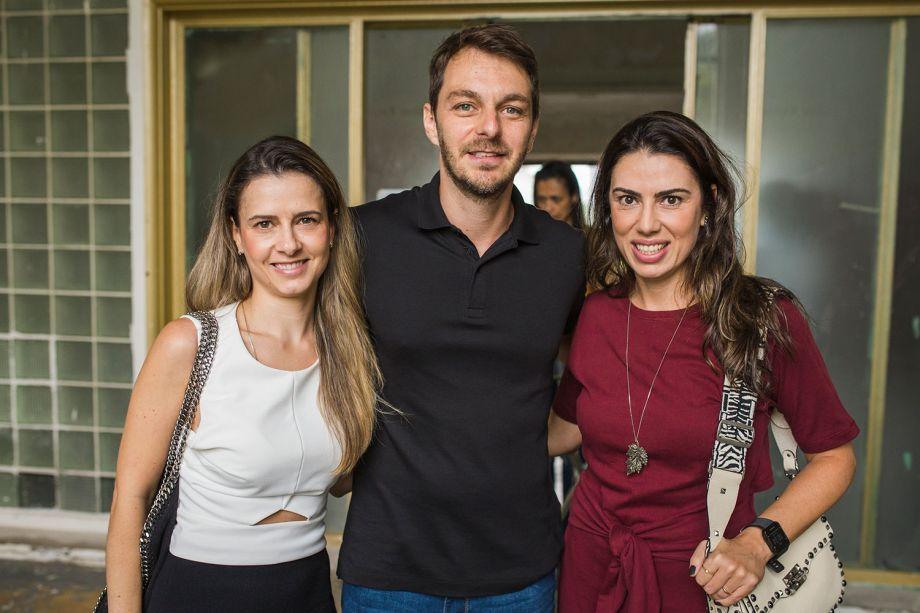 Priscila, Rodrigo Schimit e Graziella Castanheira