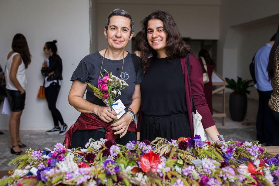 Kety e Gabriela Shapazian do Flores para os Refugiados