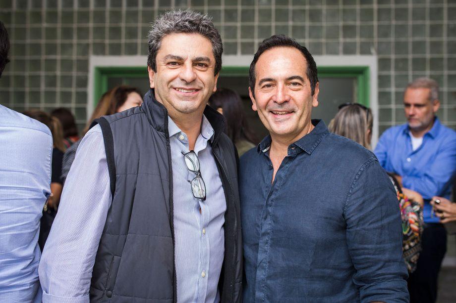 Roberto Riscala e Mauricio Queiroz