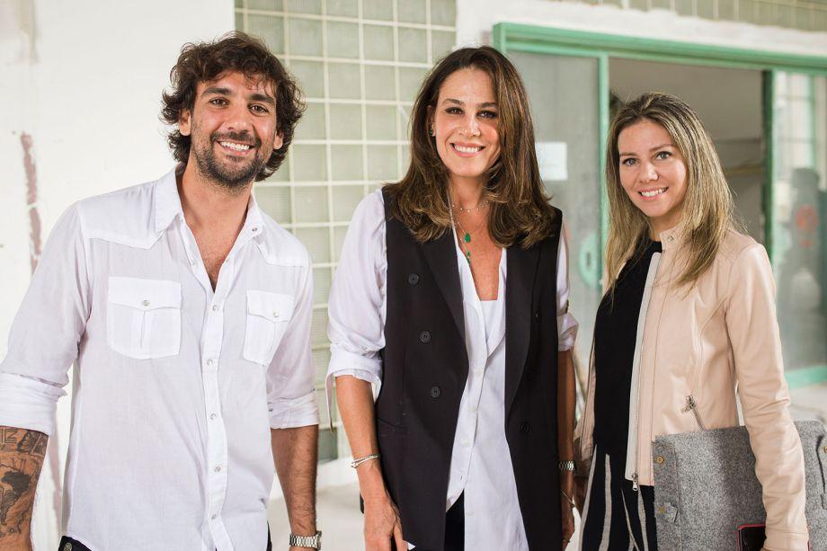 <span>Mauricio Ferre, Elaine Kalil e Ana Luiza Sawaia</span>