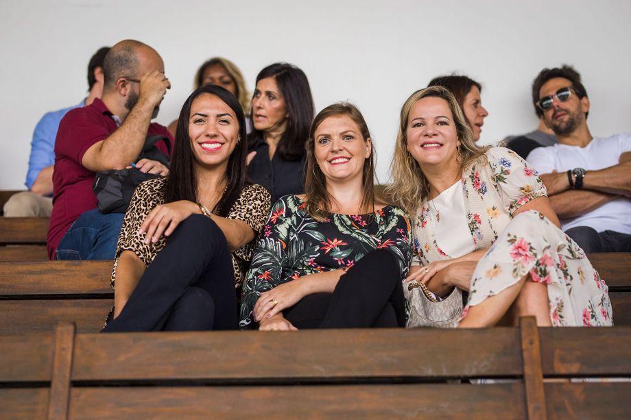 Fernanda Figueiredo, Priscila Perez e Adriana Rodrigues