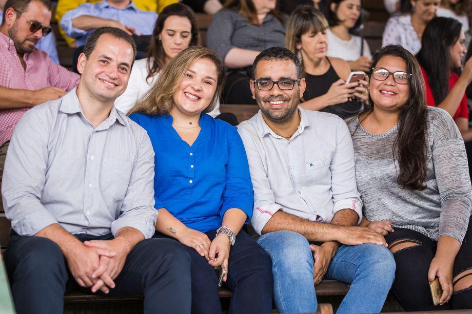 Ricardo Batista, Rafaella Triolo, Alexandre Dantes e Alessandra Lima.