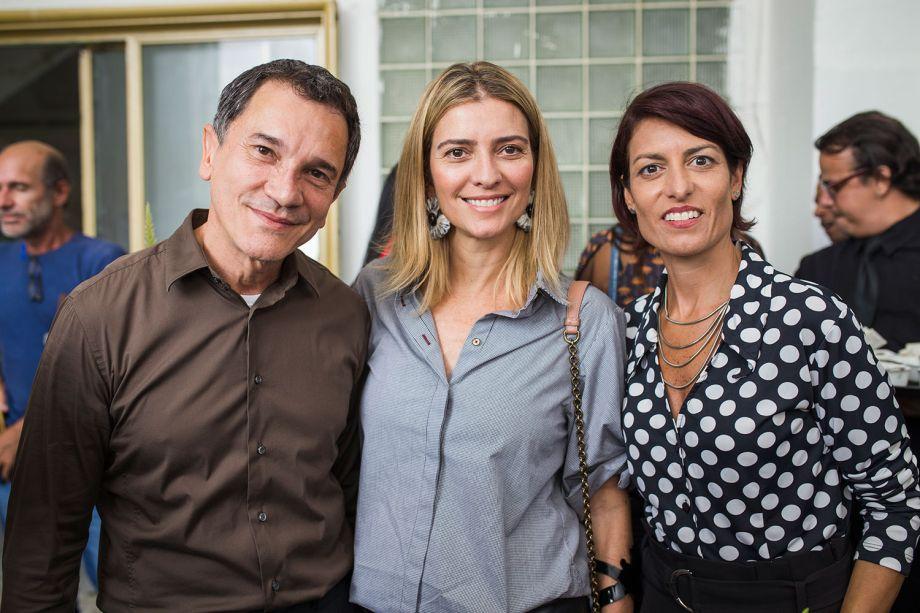 Almir Soares, Flavia Pardini e Claudia Kucharsky