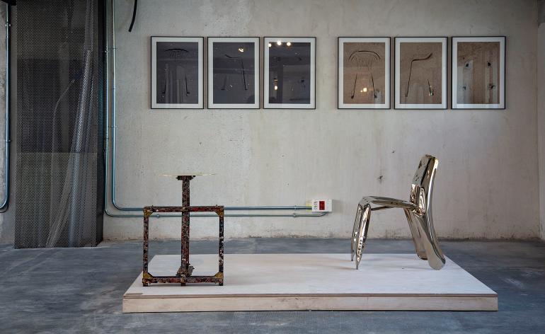 A Galleria Rossana Orlandi apresentou uma loja pop-up no novo espaço de estúdio de Alvaro Catalan de Ocon no emergente distrito criativo Carabanchel em Madri.