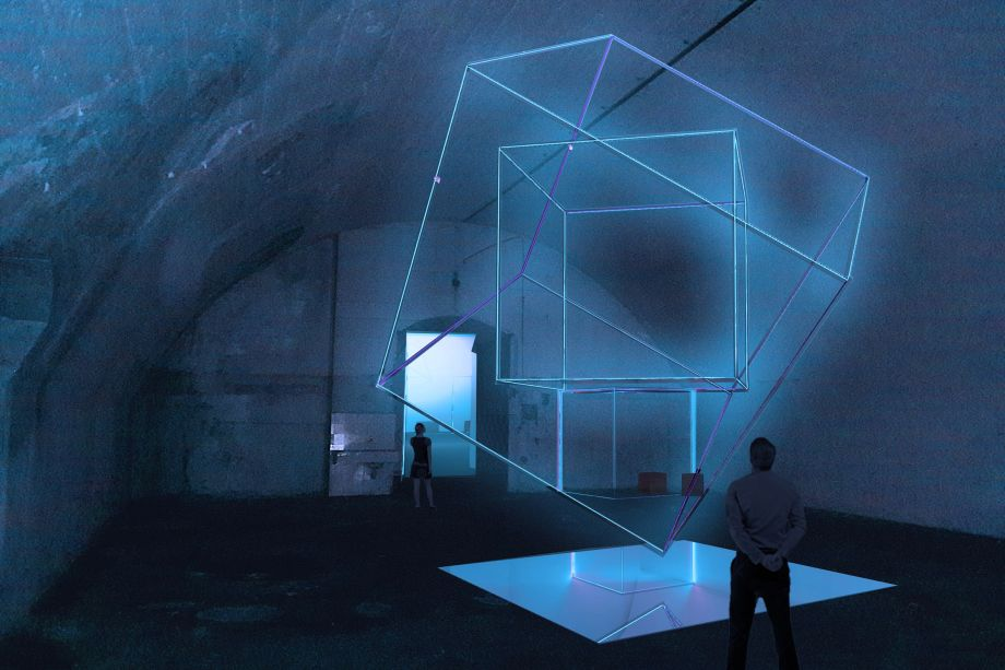 <strong>Ventura Centrale</strong>. O estúdio de design italiano Aria apresentará a instalação <strong>Come to Light</strong>.