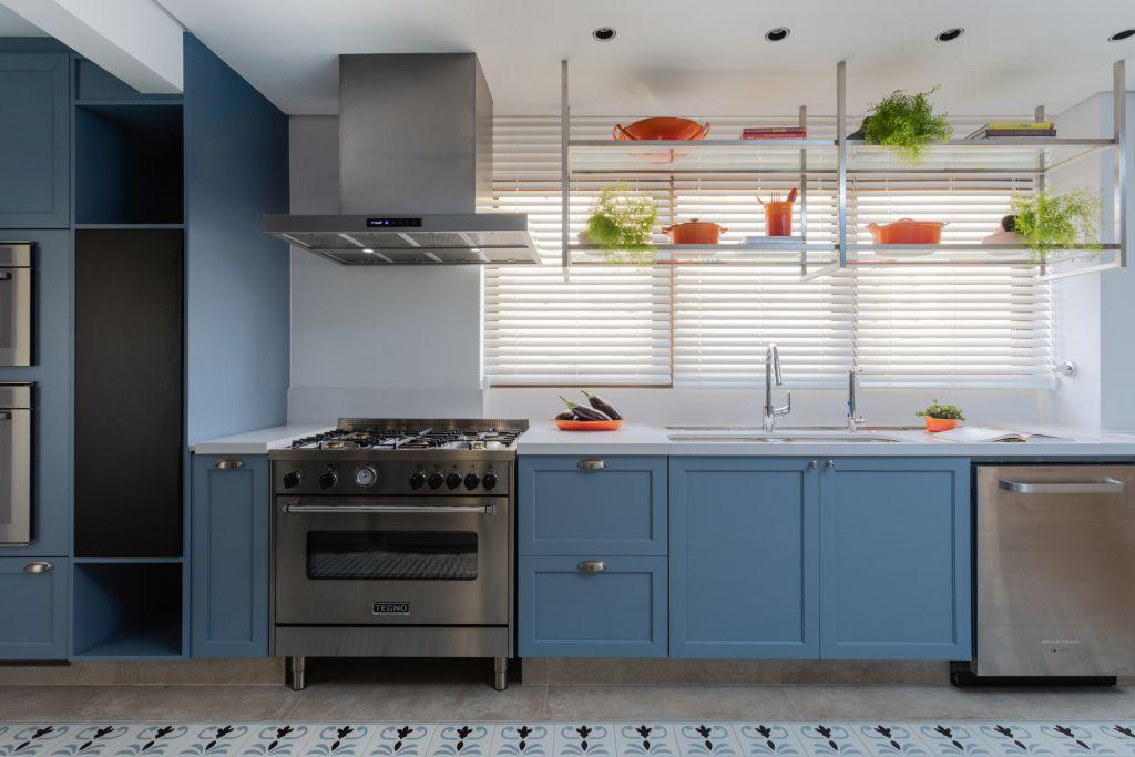 Cozinha très Arquitetura