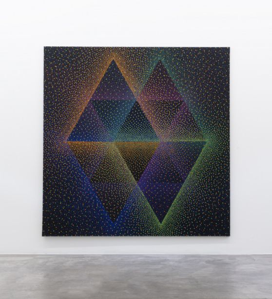 """<strong>Nara Noesler</strong> - """"Alchimie 389"""", 2018. Julio Le Parc."""