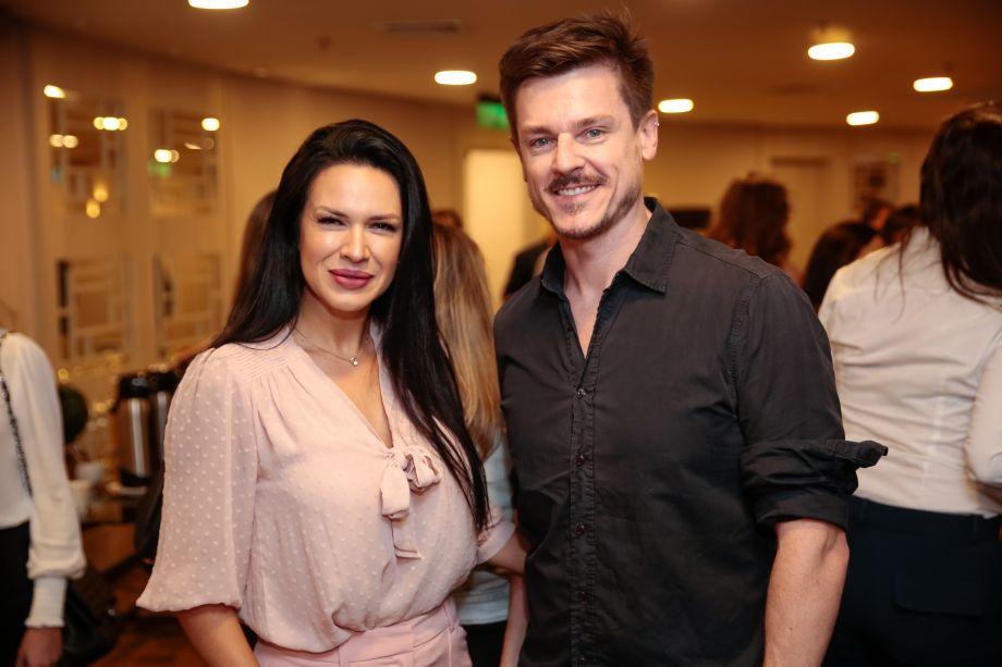 Jessica Santos e Daniel Wilges
