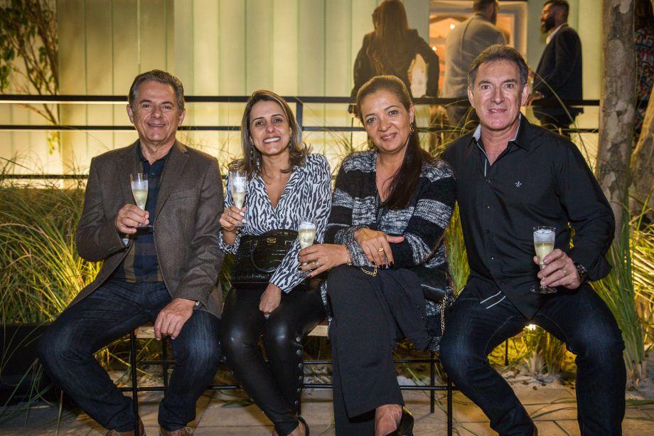 Alcir Vidigal, Bia Guedes, Cláudia Bernardelli, Ronaldo Bernardelli