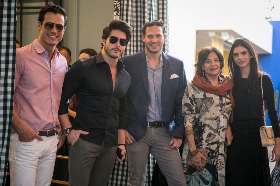 Carlos Casagrande, Bruno Santos, Felipe Alalou, Maria Lúcia Alalou