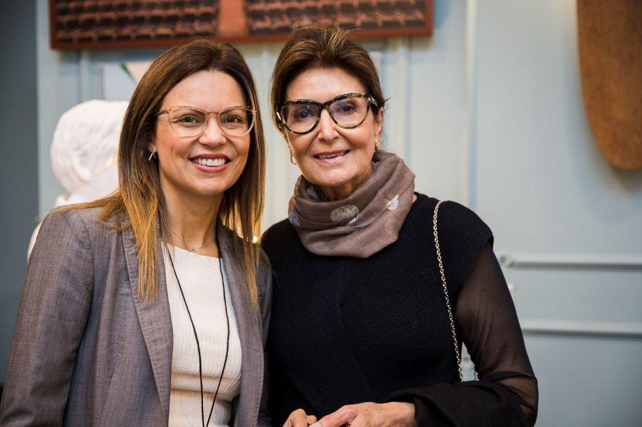 Patrícia Ellen e Cristina Ferraz