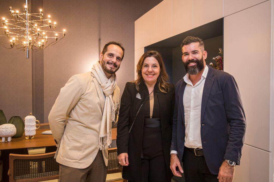 Breno Lago, Carla Cavalcanti, Adriano Abrantes