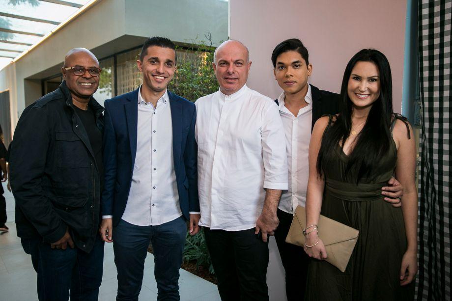 Carlos Alberto Coelho da Silva, Nasser Mohamed, Ali Majzoub, Renato Alves e Tamille Baú