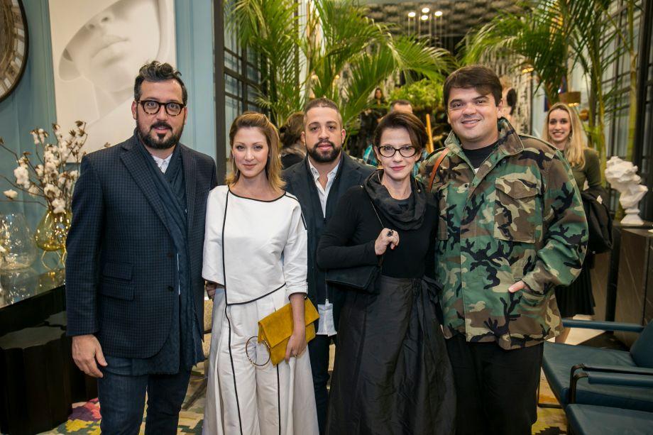 Eduardo Faleiro, Luisa Jorda, Philip Martins, Juliana Grillo e Rafa Alves