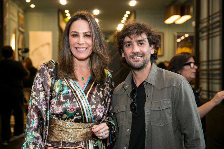 Elaine Calil e Mauricio Ferre