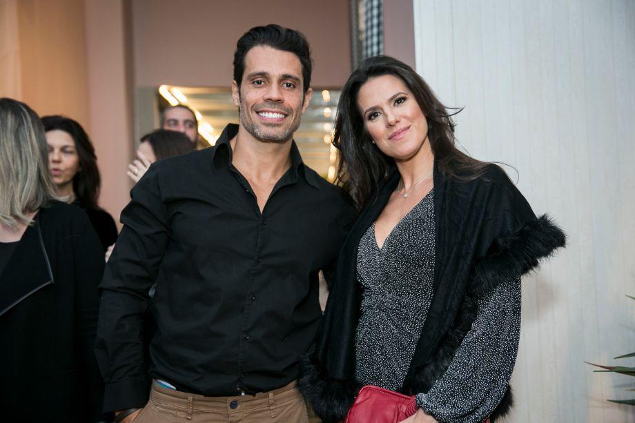 Fernanda Moreira Lima e Alexandre Lage