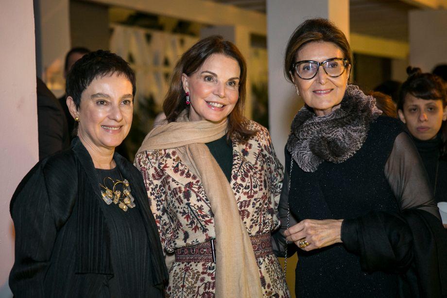 Livia Pedreira, Patricia Mayer e Cris Ferraz