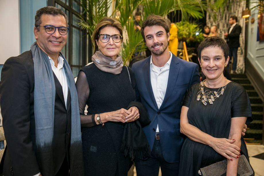Pedro Ariel, Cris Ferraz, Lucas Takaoka e Lívia Pedreira
