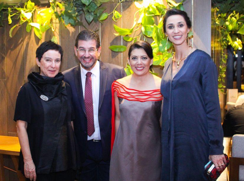 Livia Pedreira, Quito Velascol, Graciela Anglarill e Graziela de Caroli