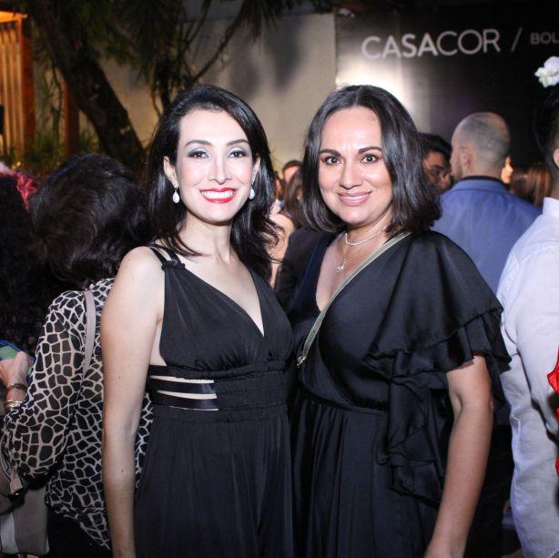 Lizzette Velasco e Claudia Mariģa Antelo