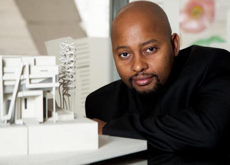 Graduou-se em arquitetura com distinção na Universidade de Cape Town e fundou o Makeka Design Lab em 2002, que busca soluções inovadoras em arquitetura e urbanismo.