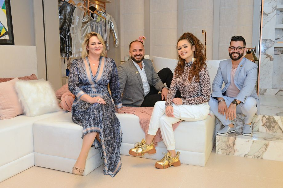 Nara Moraes, Alexandre Weiss, Franciny Ehlke e Nelson Machado