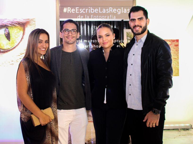Natalia Feeney, Adriaìn Baileys, Lauren Wille e Hermes Aponte