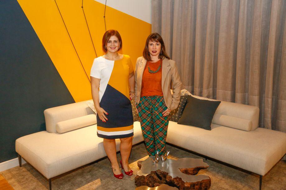 Neliza Ferraz e Nathália Silva