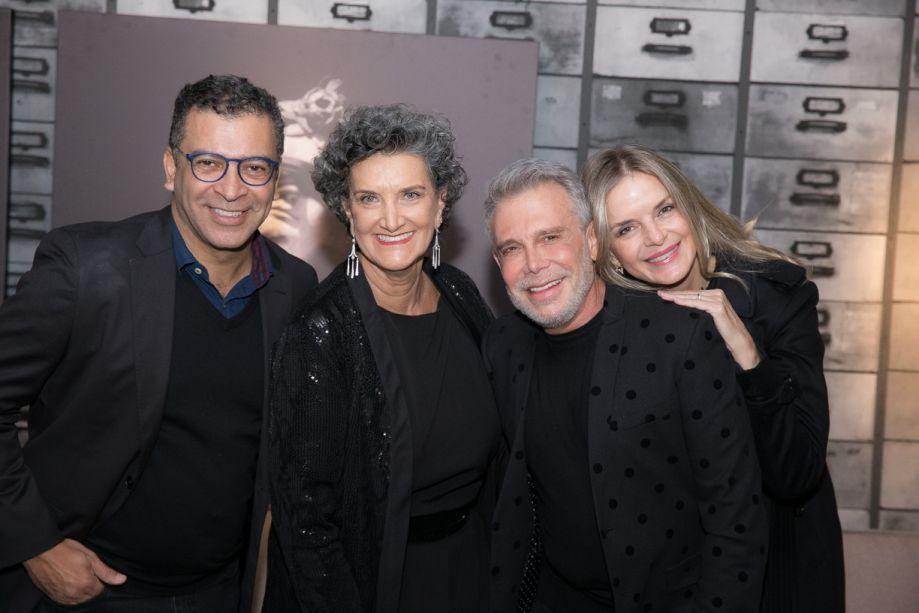 Pedro Ariel, Marina Nessi, Léo Shehtman e Beatriz Bollbuck